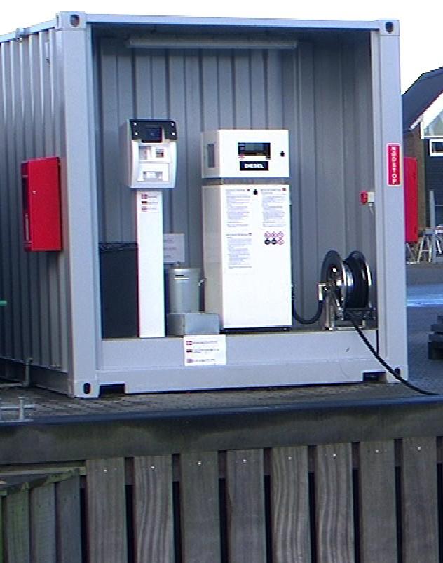 Diesel stander